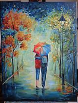 Obrazy - Láska pod dáždnikom... - 11081153_