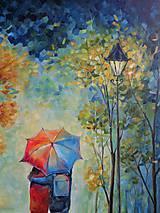 Obrazy - Láska pod dáždnikom... - 11081154_