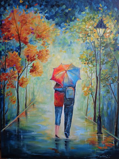 Láska pod dáždnikom...