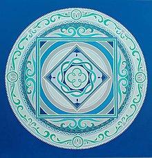 Obrazy - Mandala Splynutia - 11081589_