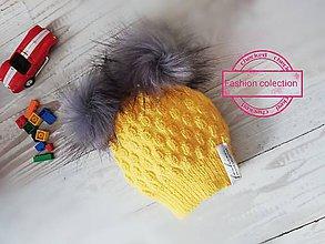 Detské čiapky - Jesenná čiapka - 11081323_