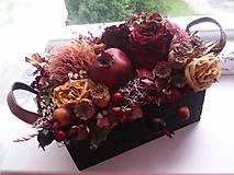 """Dekorácie - Prírodná dekorácia """"bohatá jeseň"""" - 11082876_"""