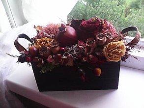 """Dekorácie - Prírodná dekorácia """"bohatá jeseň"""" - 11082874_"""