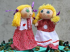 Hračky - Maňuška. Bábiky Danka a Janka - 11080715_