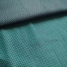 Textil - Lenny Lamb Little Herringbone Emerald - 11079492_