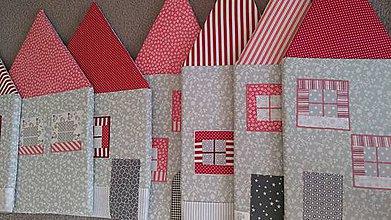 Úžitkový textil - Zástena za posteľ č. 12 - 11080942_