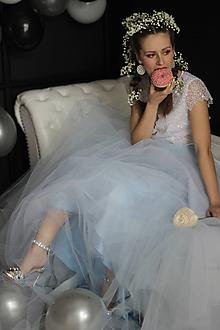 Sukne - Veľká kruhová tylová sukňa rôzne farby - 11082126_