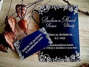 Papiernictvo - Svadobné oznámenie 30 - 11079730_