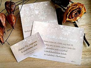 Papiernictvo - Svadobné oznámenie 22 - 11079844_