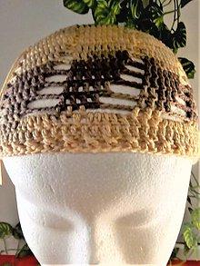 Čiapky - Dievčenská čiapka - 11079340_
