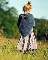 Detské oblečenie - Lněná sukně Lila (110) - 11079948_