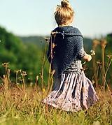 Detské oblečenie - Lněná sukně Lila (110) - 11079949_