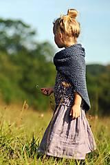 Detské oblečenie - Lněná sukně Lila (110) - 11079958_