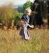 Detské oblečenie - Lněná sukně Lila (110) - 11079959_