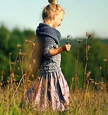 Detské oblečenie - Lněná sukně Lila - 11079960_