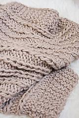 Textil - .detská deka (100% vlna) svetlohnedá - 11081769_