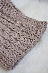 Textil - .detská deka (100% vlna) svetlohnedá - 11081770_