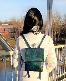 Batohy - Kožený batoh Hungry Hearts mini 08 - 11081430_