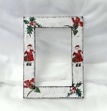 Rámiky - vianočný fotorámik - 11082295_