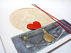 Papiernictvo - Pohľadnica ... valentínka - 11085842_