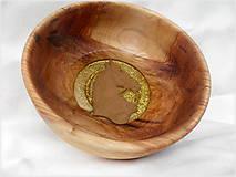 Nádoby - misa z dreva vŕby... - 11083148_
