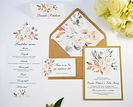 Papiernictvo - Svadobné oznámenie Aurelia - 11084733_