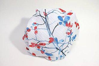 Textil - FLORAL gázovinová prikrývka - Šípky - 11085695_