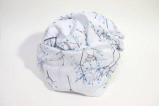Textil - FLORA prikrývka - Gipsomilka - 11085715_