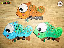 Magnetka - chameleon