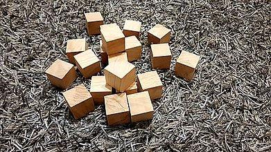 Hračky - Drevené kocky - 11086171_