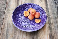Nádoby - Hlboký tanier - levanduľová kolekcia - 11086156_