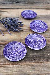 Nádoby - Malá miska - levanduľová kolekcia - 11086258_