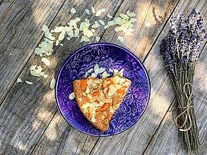 Nádoby - Dezertný tanier - levanduľová kolekcia - 11086176_