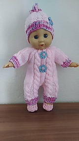 Hračky - Zuzička oblečenie pre bábiku - 11083285_