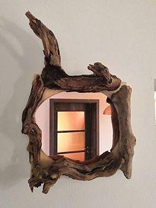Zrkadlá - Driftwood zrkadlo - 11083499_