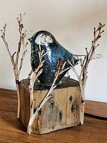 "Svietidlá a sviečky - Dekoratívna stolná lampa ""Birdy"" - 11085987_"