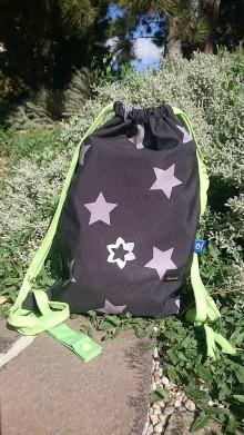 Batohy - Detský vak dAdKa  (Strieborné hviezdy) - 11084379_