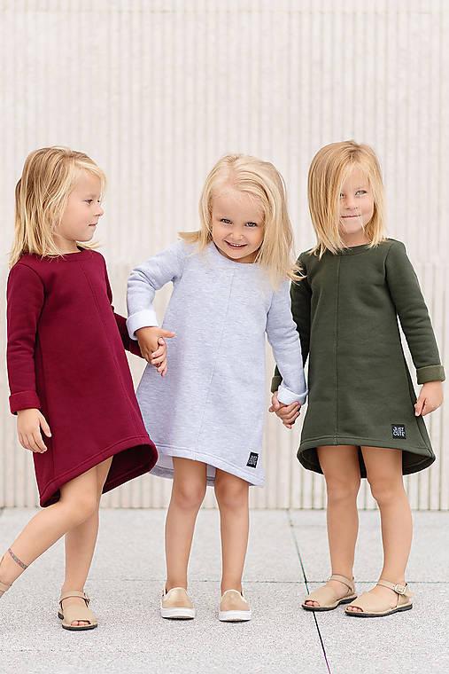 Detské oblečenie - ŠATY CUTE WINTER - 11085467_