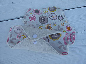 Úžitkový textil - látkové vložky intimky s PUL-biobavlna - 11085496_