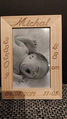 Detské doplnky - Foto rámik pre vášho drobčeka - 11083336_