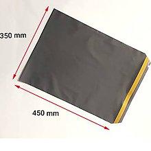 Obalový materiál - Sivá plastová obálka 35 x 45 cm, 50 my, A3 - 11085674_