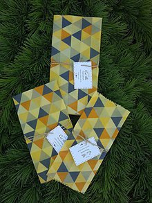 Úžitkový textil - voskovy obrusok 25x25 - 11085254_
