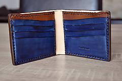 Peňaženky - Kožená peňaženka - classic billfold - 11084567_
