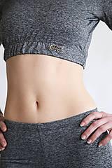 Nohavice - Gray Mouse - šedé legíny - 11085203_