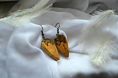 Náušnice - Náušnice - Prirodzená krása - 11083278_