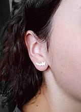 Sady šperkov - Strieborné šperky z kolekcie CUTE WILDNESS -LÍŠKA (minimalistický štýl) - 11085033_