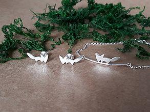 Sady šperkov - Strieborné šperky z kolekcie CUTE WILDNESS -LÍŠKA (minimalistický štýl) - 11085034_
