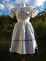 Šaty - Ľudová folklorna súprava - 11085164_
