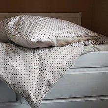 Úžitkový textil - Posteľná bielizeň srdiečka - 2 sady - 11084076_