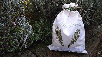 Úžitkový textil - Vrecko na bylinky - 11088560_